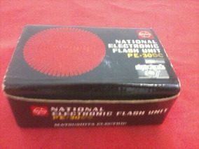 Flash National Eletronic Made In Japan Pe-30dc