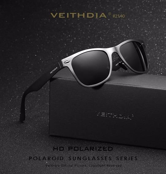Óculos De Sol Masculino Veithdia Original Pronta Entrega