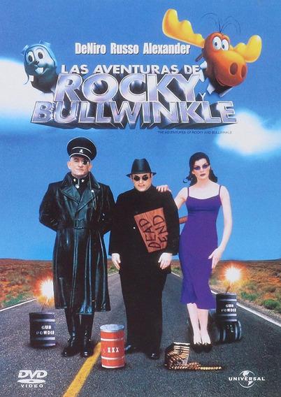 Las Aventuras De Rocky Y Bullwinkle Pelicula Dvd