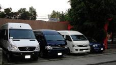 Renta Camionetas Grandes 20 A 25 Pasajeros Lujo Y Economicos