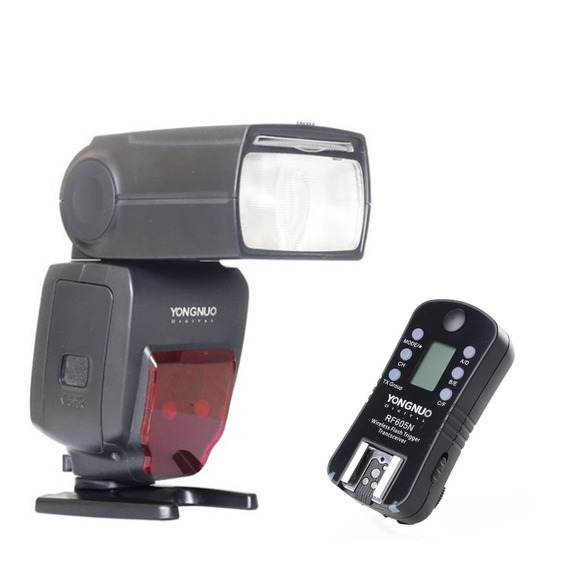 Flash Yongnuo Speedlite Yn-660+moderno+radio Flash 605 Nikon