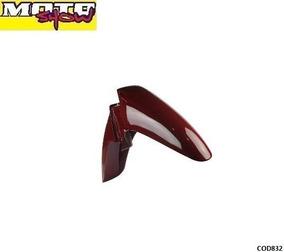 Paralama Dianteiro Biz 04 / 05 Vermelho Cod832