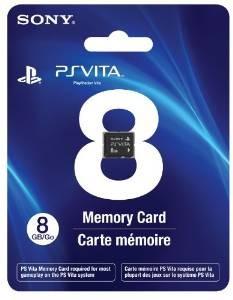 Tarjeta De Memoria De 8 Gb Playstation Vita