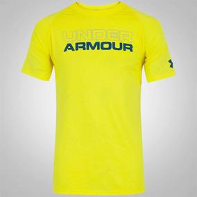 773c4ae54e6 Camiseta Under Armour Wordmark Stacked Ua Tech