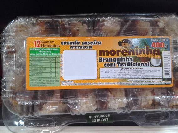 Cocada Recheada - Casadinho - Moreninha 3 Bandejas De 12 Und