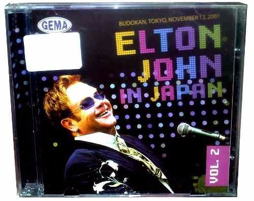 Cd Elton John - In Japan Vol 2 - Original E Lacrado