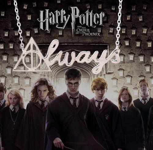 Collar Always Harry Potter Reliquias De La Muerte