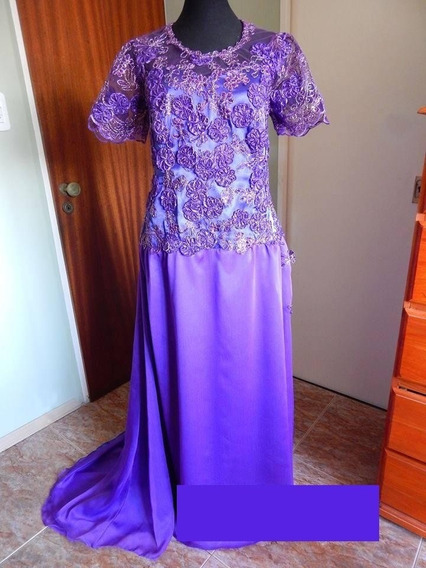 Vestido De Fiesta Largo Madrina