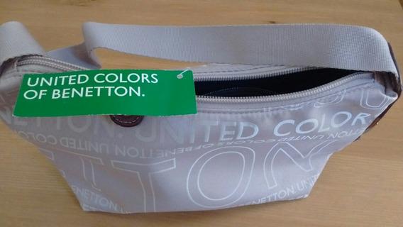 Cartera Benetton Original. Nueva Con Etiqueta.