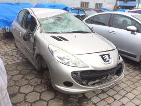 Sucata Peugeot 207 1.6 16v Ano 11/12 Retirada De Peças