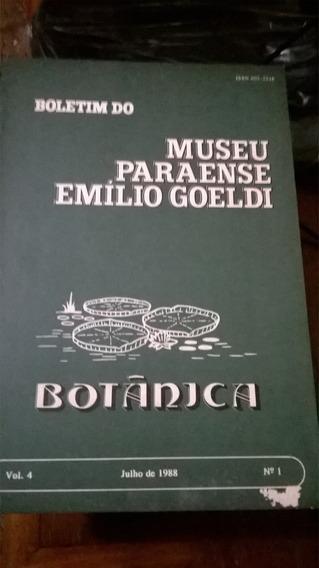 Emilio Goeldi - Boletim Do Museu Sobre Botânica