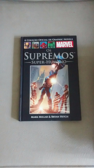 Marvel Salvat -os Supremos -super Humanos- 28