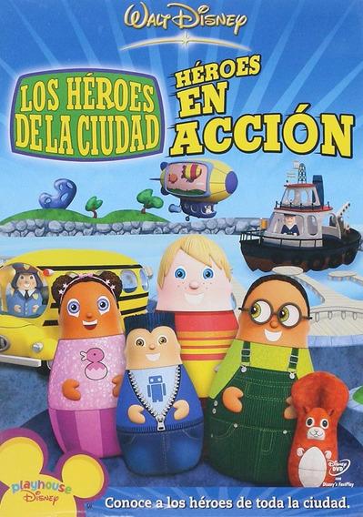 Los Heroes De La Ciudad Heroes En Accion Pelicula Dvd