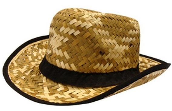 Sombrero De Paja Tipo Australiano
