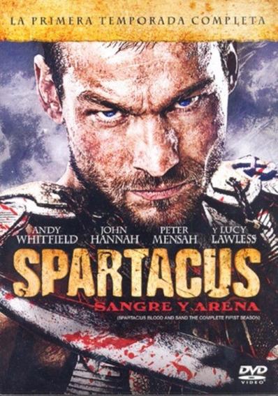 Spartacus Paquete Temporadas 1 2 3 Dvd