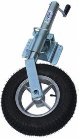 Roda Famit P2 Com Pedestal /escamoteável/galvanizada/carreta