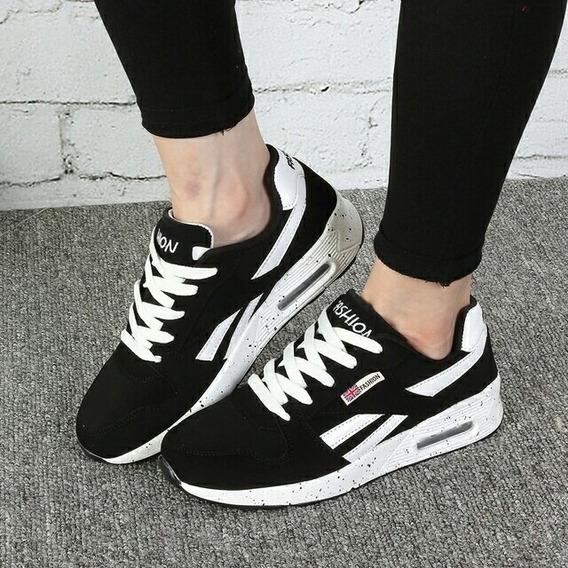 Tenis Moda Flats Shoes Feminino