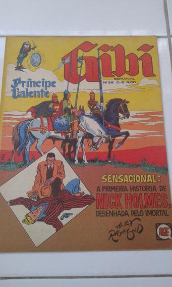 Gibi Semanal Anos 70 Original Príncipe Valente Raridade