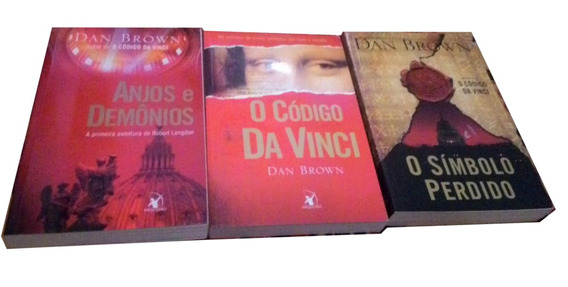 Box Livro O Codigo Da Vinci