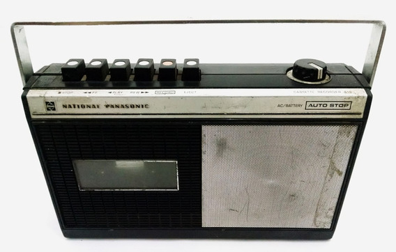 Radio Rq-416s National Panasonic Placa P/ Desmanche Reparo