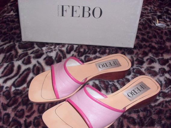 Zapatos Sandalias Noventosas Rosas De Verano Para Mujer Febo