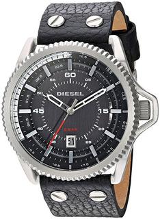 Reloj Diesel Rollcage Cuero Hombre Re023