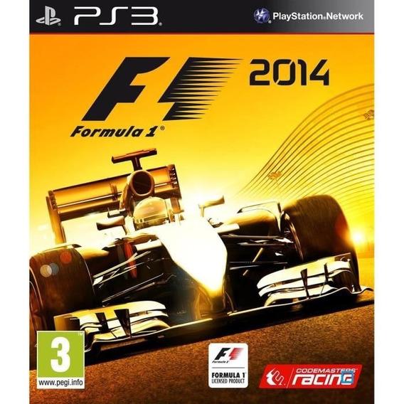 F1 2014 - Fórmula 1 2014 - Ps3 Psn