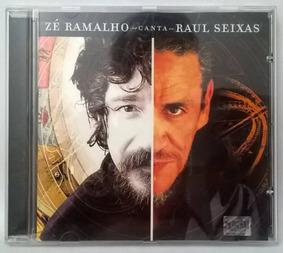 Cd Zé Ramalho - Canta Raul - Cd Nunca Usado