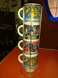 Tarros Para Cafe En Rack Transformers