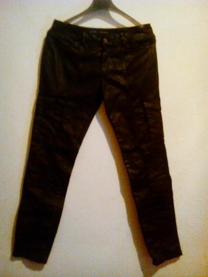 Pantalón Zara Tipo Cuero