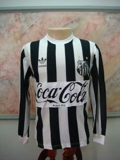 Camisa Futebol Santos Sp adidas Jogo Antiga 858