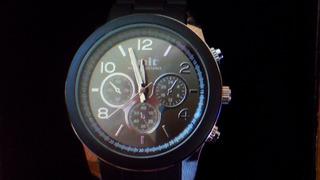 Reloj Emit - 44 Mm De Diametro - Malla Negra Nuevo