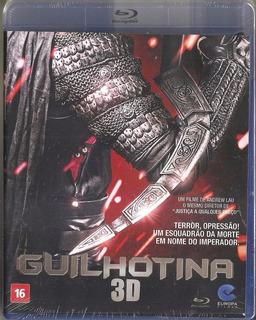 Blu Ray 3d Guilhotina -diretor Andrew Lau -c/ Xiaoming Huang