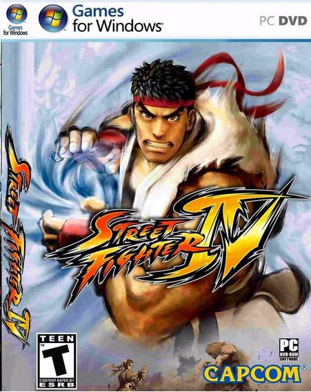 Street Fighter 4 Pc Envio No Mesmo Dia Original!