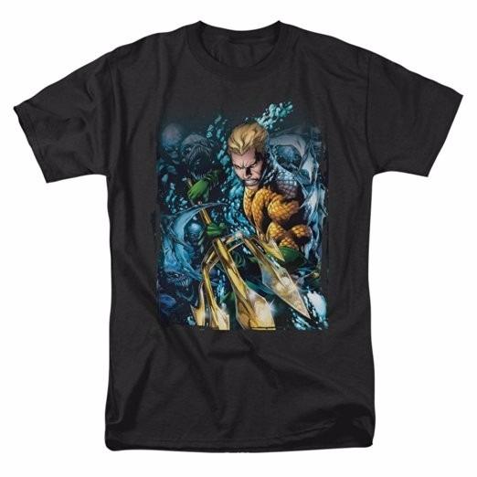 Disfraz Aquaman New 52 #1 T-shirt