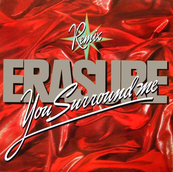 Erasure - You Surround Me Vinilo Maxi Remix Made In Uk !!!
