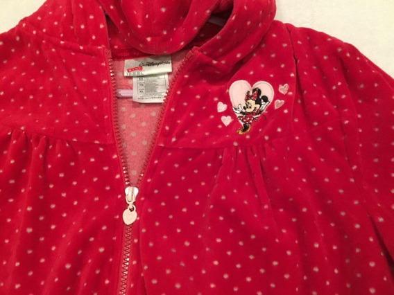 Blusa Moletom De Veludo Camurça Suede Original Disney Minnie