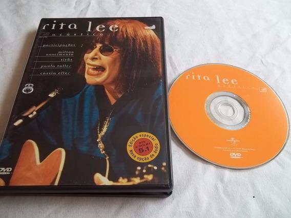 * Dvd - Rita Lee Acustico - Pop Rock Nacional