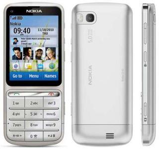 Pedido Nokia C3-01 5mpx Silver Libre De Fabrica