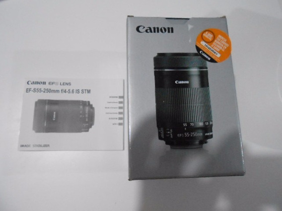 Lente Canon Ef-s 55-200 F/4-5.6 Is Stm