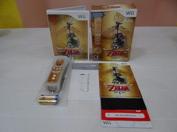 The Legend Of Zelda Skyward Sword 25th - Wii - Completo!