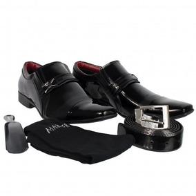 552171dda0 Kit Sapato Cinto Carteira Meia E Calcadeira - Calçados