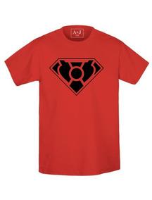 Playera Estampada Superhéroes Superman 2