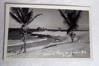 Cartão Postal Natal Areìa Preta Rio Grande Norte