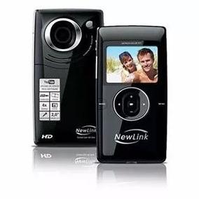 Filmadora Pocket Cam Hd Slim Vc105 New Link - Nova Na Caixa