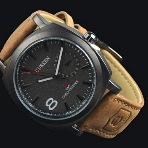 Relógio Curren Army Stile Pronta Entrega