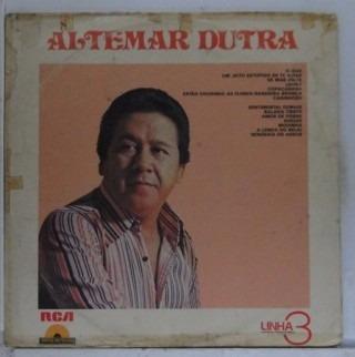 Lp Altemar Dutra - Linha 3 Disco De Ouro- Disco Raro- A193