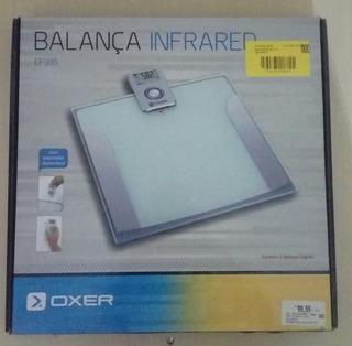 Balança Digital Banheiro Vidro Temperado - Infrared Ef 935