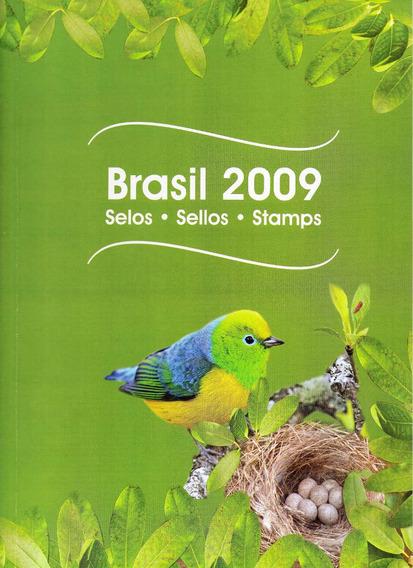 2009 - Coleção Anual Selos Brasil Cartela Dos Correios