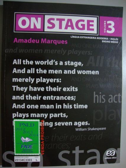 Livro Inglês On Stage 3 - Ensino Médio